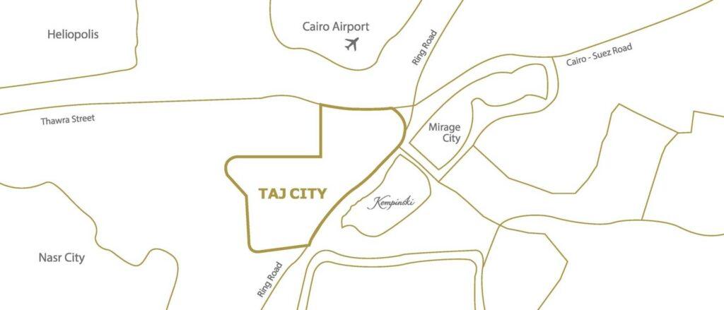 تحتوي هذه الصورة على سمة alt فارغة؛ اسم الملف هو taj-city-new-cairo-location-1024x439.jpg